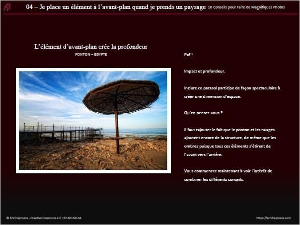 10 conseils photos - Exemple