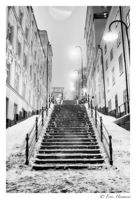 Pose Longue - 24mm - Iso200 - f/9 - 24s - Stockholm - © Eric Heymans