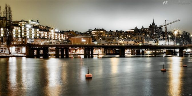 Pose longue : 24mm - Iso200 - f/16 - 20s : Stockholm - © Eric Heymans