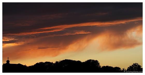 Contre-jour favorisant les hautes lumières / © Eric Heymans