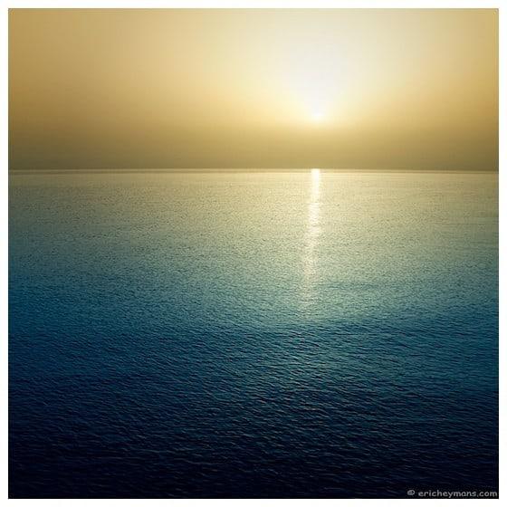 Contre-Jour sur la mer - @Eric Heymans