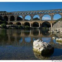 Provence - Pont du Gard - Element avant-plan- Caillou - Brutes - Eric Heymans 6