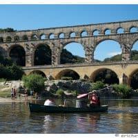 Provence - Pont du Gard - Element avant-plan - Kayak - Brutes - Eric Heymans 6