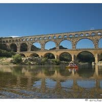 Provence - Pont du Gard - Element avant-plan - Brutes - Eric Heymans 7