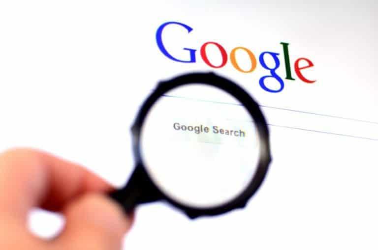 Recherche Google pour les photographes