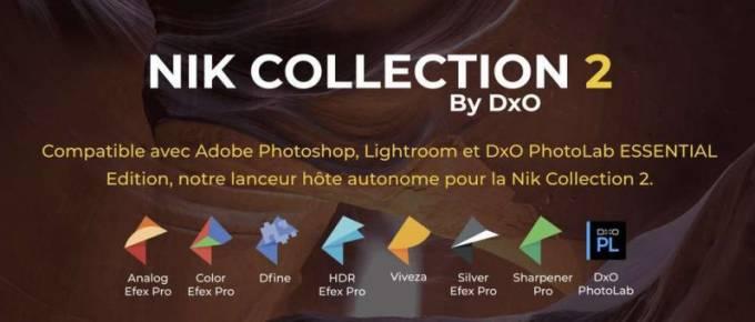 Nik Collection 2 - 2019 - Contenu de la suite des plugins